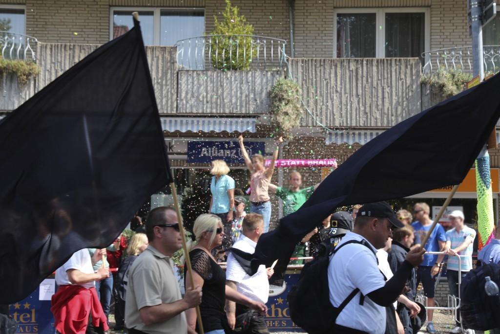 Feiern gegen den Stumpfsinn in Bad Nenndorf