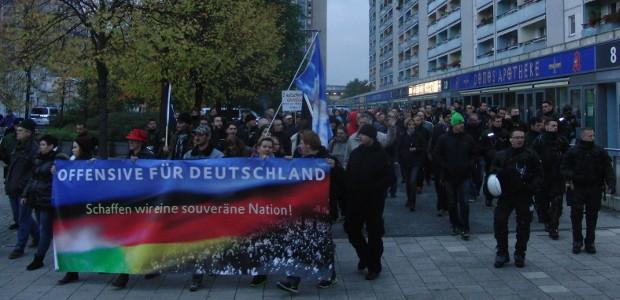 OfD-Aufmarsch in Leipzig © René Loch