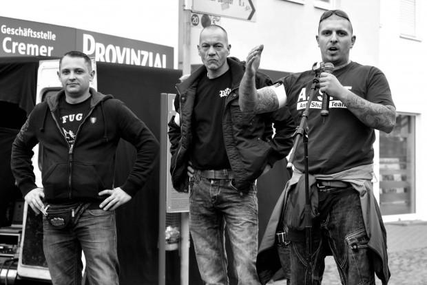 Naziaufmarsch Linnich 08.11.15 © Marek Majewsky