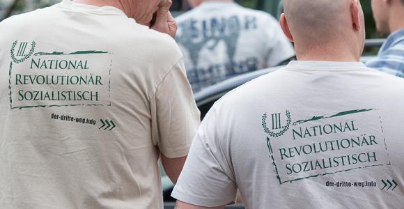 """Das Motto der Neonazi-Partei """"Der III. Weg"""""""