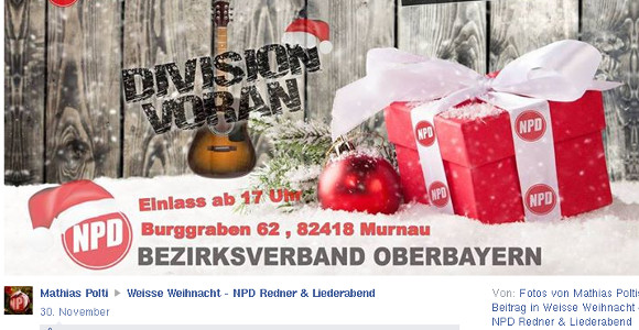 "Flyer ""Weisse Weihnacht"" 2015 ©Screenshot"