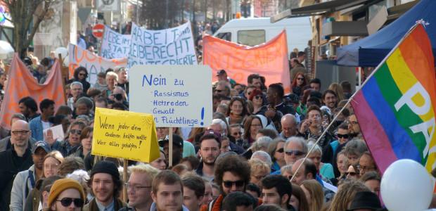 Hand in Hand gegen Rassismus 19.3. Kempten (flickr.com/fromoutback2)