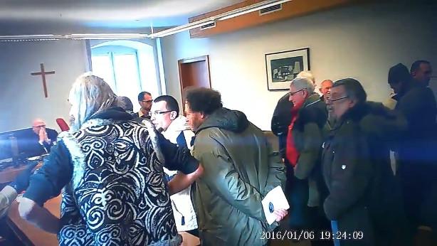 Reichsbürger am Amtsgericht Kaufbeuren (© Screenshot)