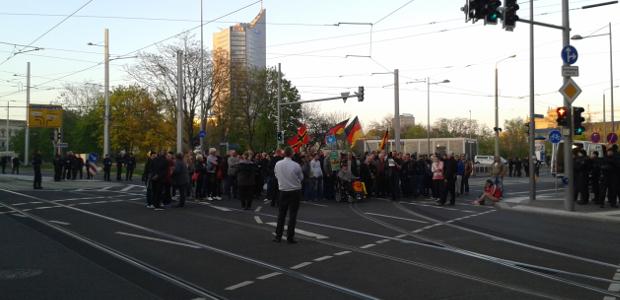 Legida-Demonstration am 21. April 2016 © René Loch