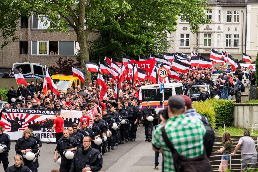 """""""Tag der deutschen Zukunft"""": Neonaziaufmarsch in Dortmund"""