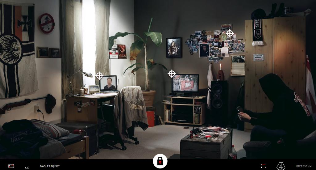 Beim Nazi im virtuellen Wohnzimmer