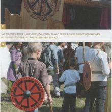 Verwendung des achtspeichigen Hakenkreuzes auf Mittelalterfest (aus: Nazis im Wolfspelz)