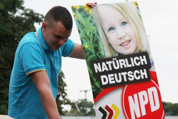 Tobias Kammler, Landesvorsitzender der NPD in Thüringen. Foto: Kai Budler