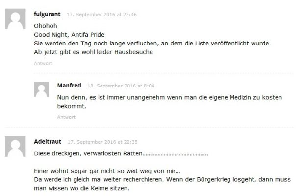 Anonymous Fake Kommentar 2