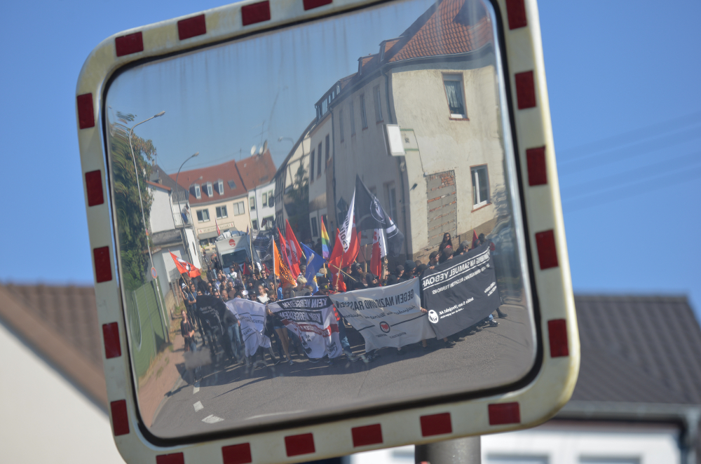 Demonstrationszug in Saarlouis © J. M. Gerlach