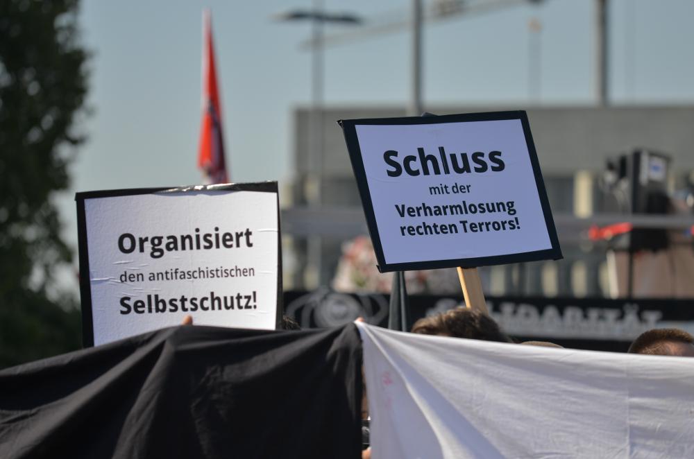 Demonstrationszug in Saarlouis © J. M. Gerlach