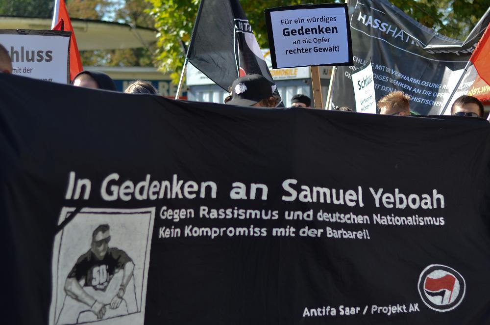 Demonstrationszug in Saarlouis © Karina Akuova