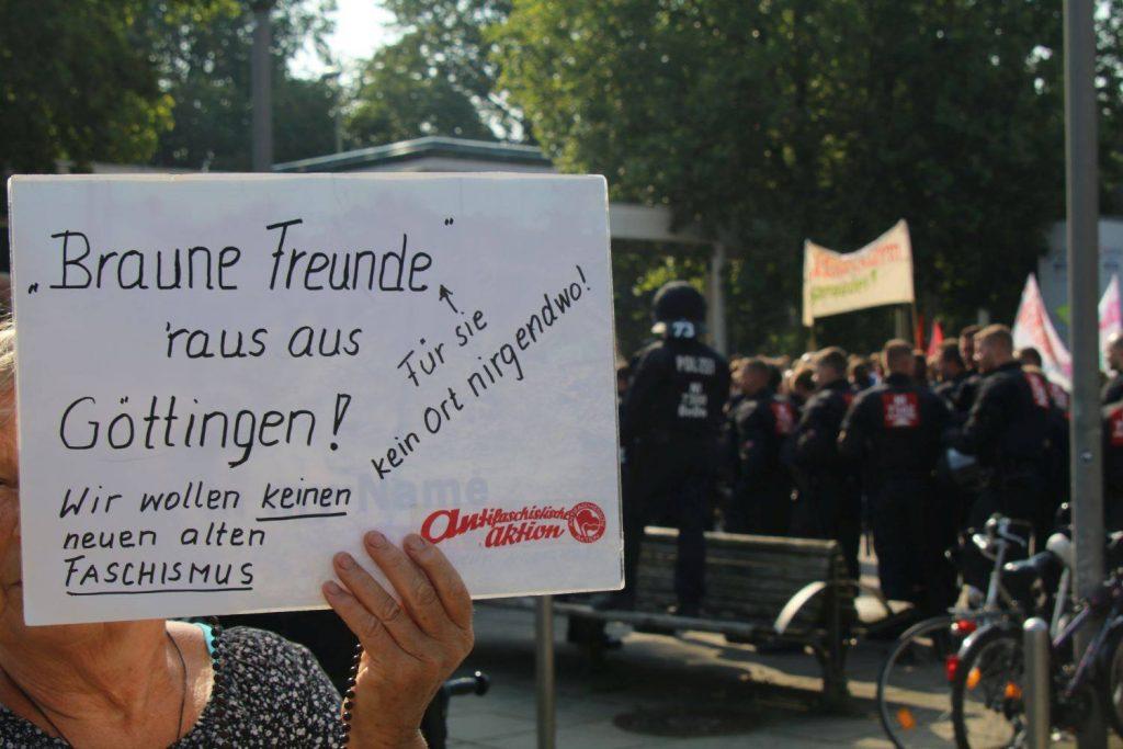 Schlecht gelaufen für die NPD in Göttingen