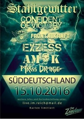 Das Konzert war für den Raum Süddeutschland angekündigt worden. Offenbar um auf Nummer sicher zu gehen - tatsächlich hat es in der Schweiz stattgefunden. Screenshot: Störungsmelder