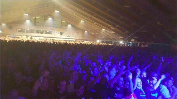 Mehr als 5000 Neonazis reisten zu dem Konzert in Unterwasser.
