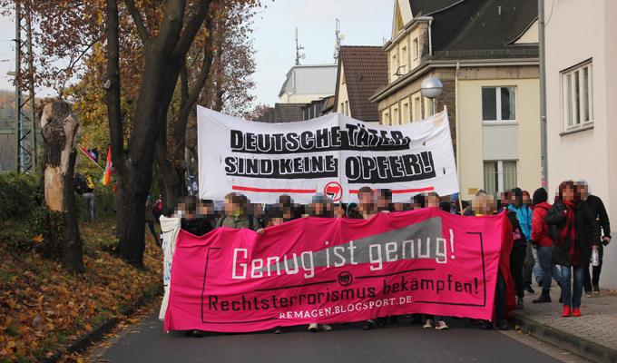 Remagen 12.11.2016 Antifa-Demo