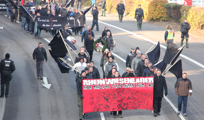 Neonaziaufmarsch Remagen 12.11.2016