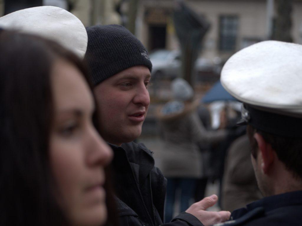 Dortmund Neonazi Brück bei jüdischer Gedenksversammlung