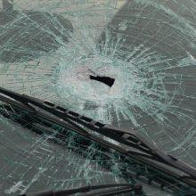 Memmingen, 12.1.16: eingeschlagene Autoscheiben ©S. Lipp