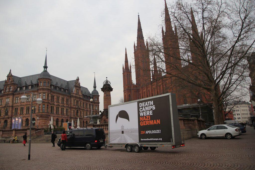 Protest gegen ZDF-Bericht über Auschwitz
