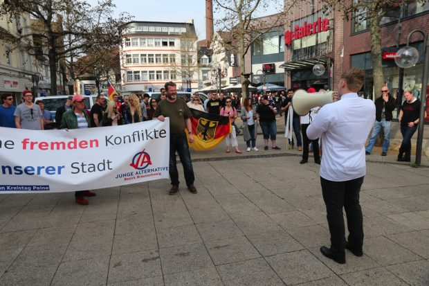 AfD-Kundgebung