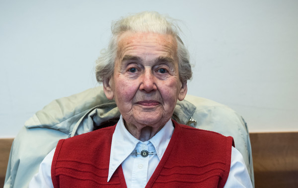 Holocaust-Leugnerin Ursula Haverbeck in Vlotho festgenommen