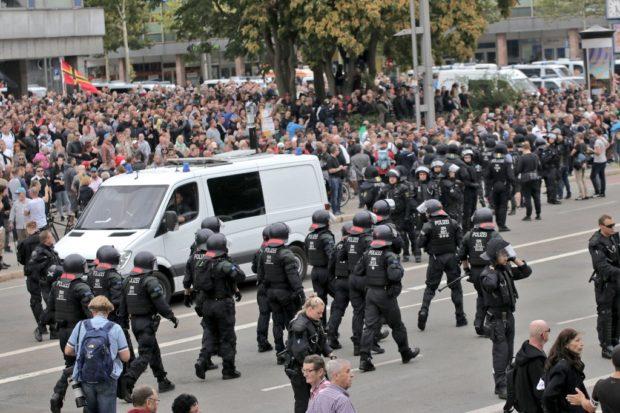 Wie die AfD in Chemnitz mitmischte