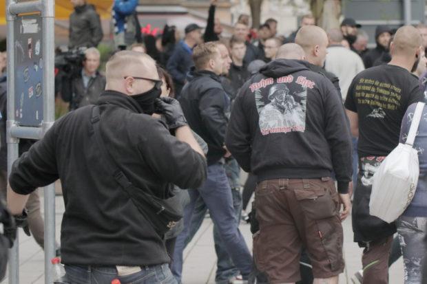 Angriffe auf Journalisten in Chemnitz
