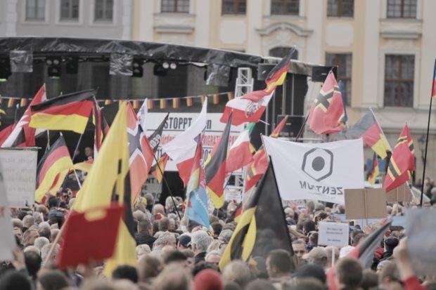 Dresden: Pegida zum Jubiläum in der Unterzahl