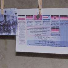 Neonazifest in Ostritz: Mit Tricks gegen die Pressefreiheit: Verschwörungstheorien am Haverbeck-Stand © Henrik Merker