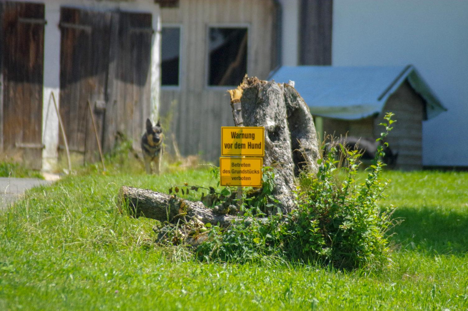 Rechtsextremismus: Hinter der saftig-grünen Fassade im Allgäu steckt ein tiefbrauner Sumpf. Auf diesem idyllischen Hof fand ein Neonazikonzert statt. © Norbert Kelpp