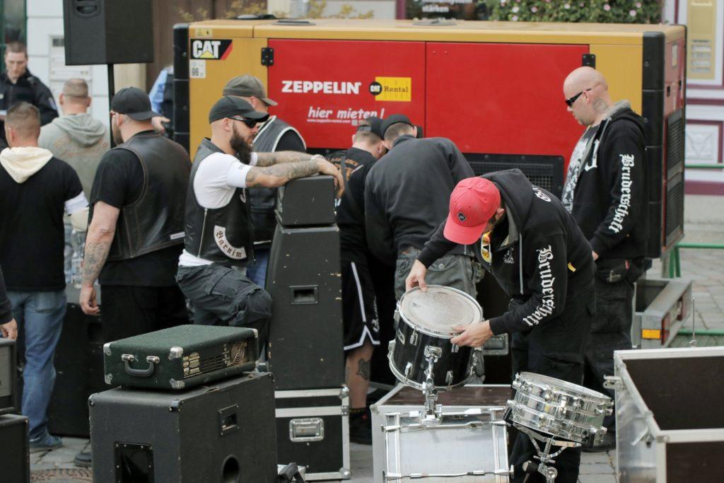 Rechtsextremismus: Die Turonen-Kameradschaft beim Neonazikonzert in Apolda