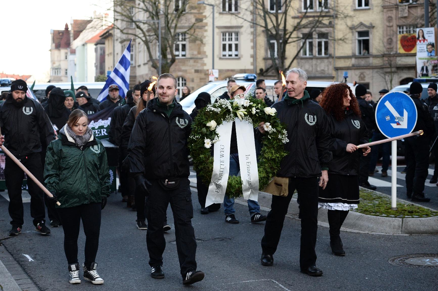 Blockaden in Bamberg stören Neonazi-Aufmarsch - Störungsmelder