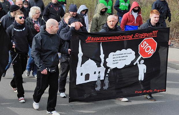 Neonazis in Brandenburg