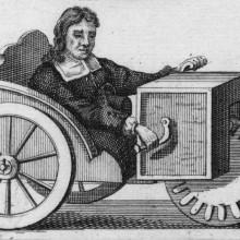Rollstuhl von Stephan Farfler