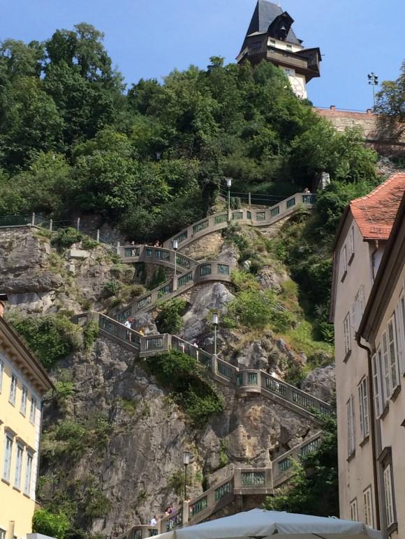 Uhrturm auf dem Schlossberg