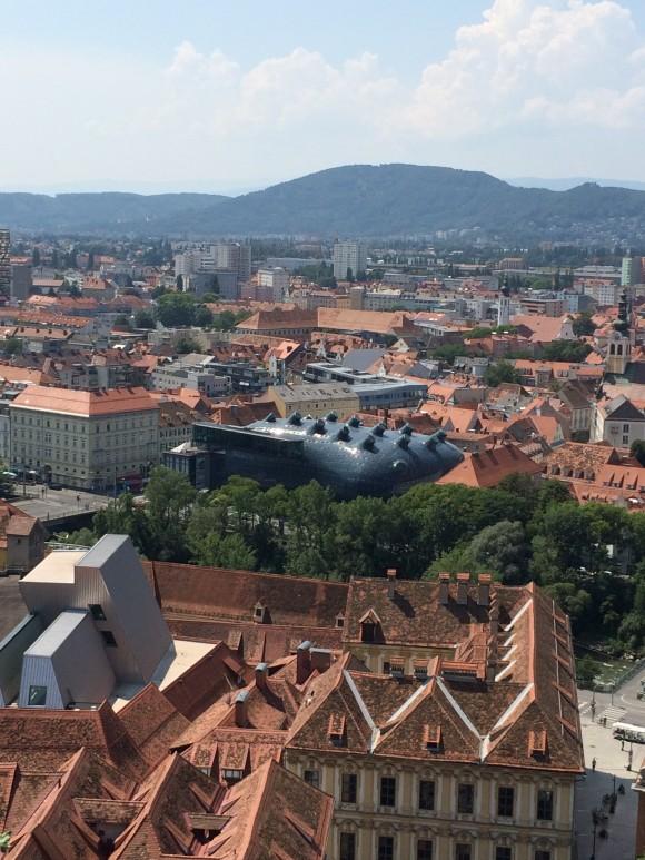 Blick über Graz