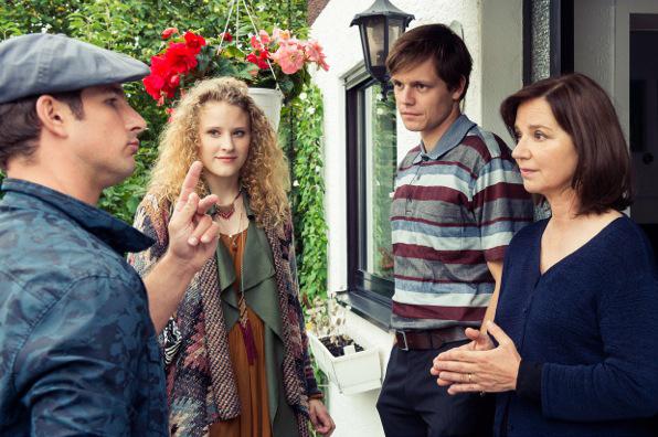 Vier Schauspieler des Tatort