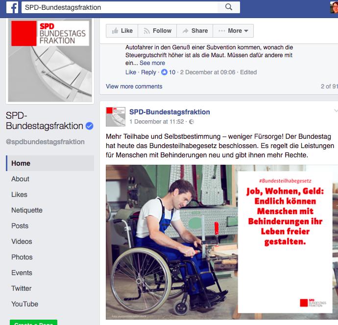 Handwerker im Rollstuhl