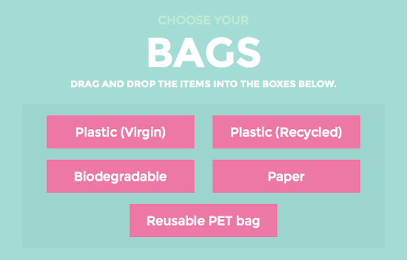 """© The Atlantic: """"A Simple Way Out of the Plastic Versus Paper Bag Dilemma"""""""