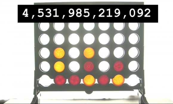 "Screenshot You-Tube-VIdeo ""Connect Four – Numberphile"""
