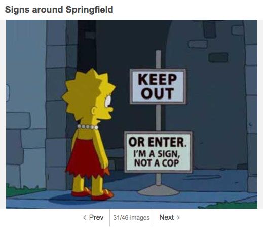 Spimpsons_Springfield_Schild1