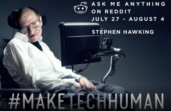 Eine Frage an Stephen Hawking?