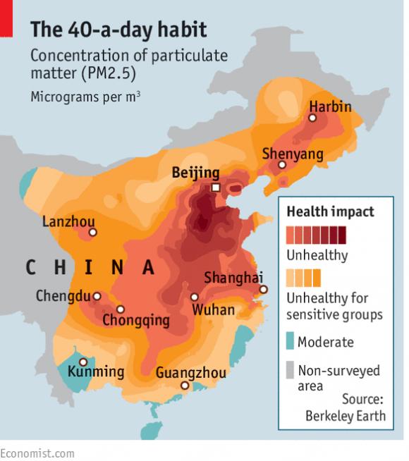 Chinas Smog-Airmageddon