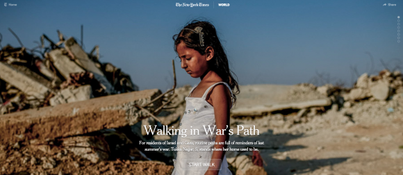 Gaza-Streifen: Mit Tukka durch die Trümmer ihrer Heimat