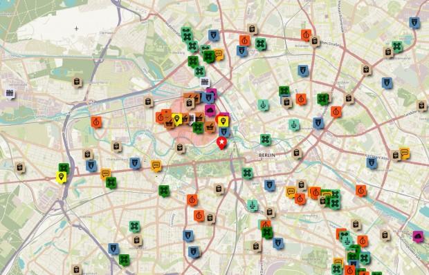 Eine Berlin-Karte für alle Fälle