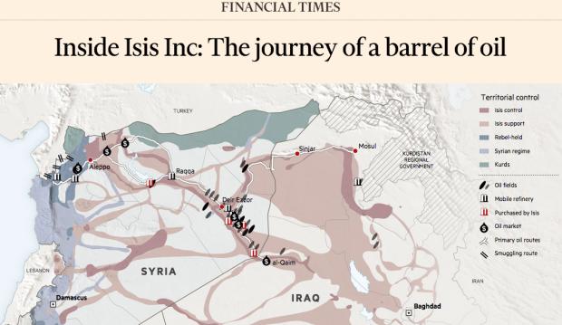 Wie der IS sein Öl verkauft