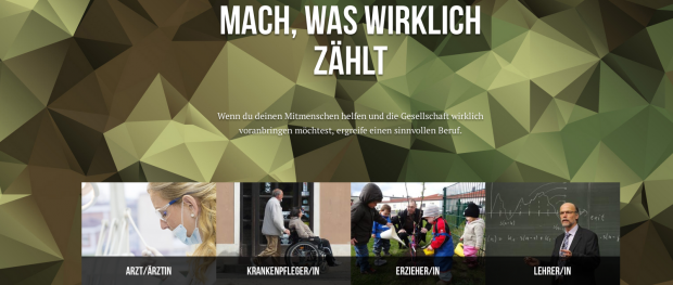 Werben gegen die Bundeswehr