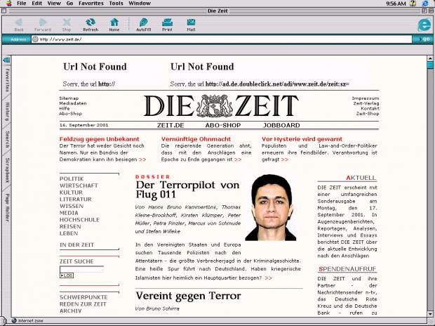 ZEIT ONLINE am 16.11.2001