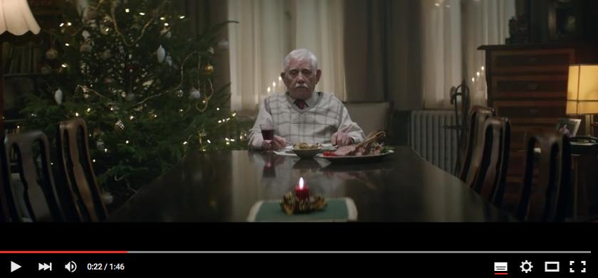 edeka werbung einsame weihnachten. Black Bedroom Furniture Sets. Home Design Ideas